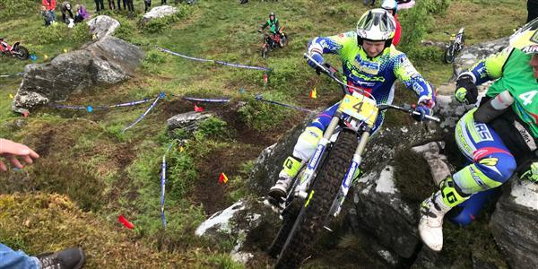 ACU Trial GB Championships - Price egdes away in Series.