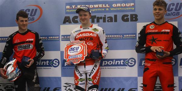 ACU Trial GB Championships - Dignan retains Red Plate in ACU Trial 125 class.