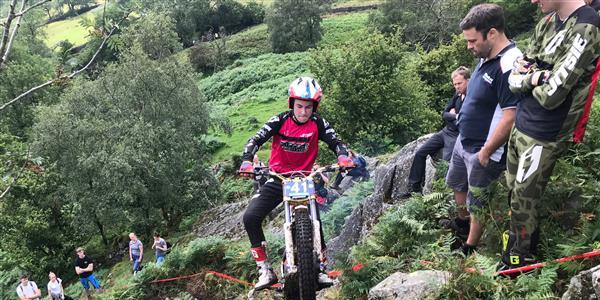 ACU Trial GB Championships - Dignan dominant in ACU Trial 125 Class
