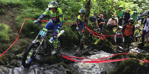 ACU Trial GB Championships - Two riders share lead in the ACU Trial 2 Class