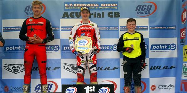 ACU Trial GB Championships - Dignan signs off Trial 125 class with another win.