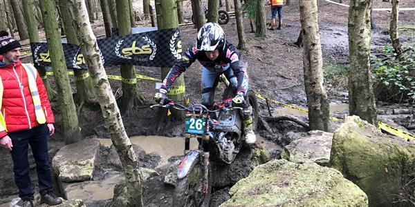ACU Trial GB Championships - Connor repeats 2019 Trial 2 success.